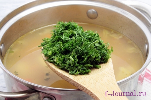Суп из чечевицы