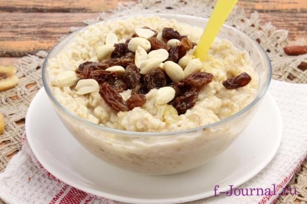 Овсяная каша с грушей – кулинарный рецепт