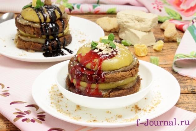 9_7Запеченные яблоки в духовке