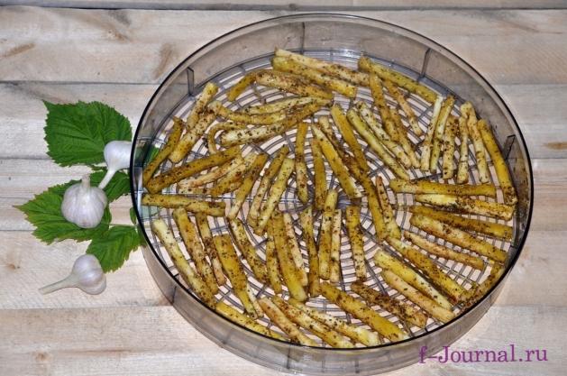Маринованные сушеные баклажаны