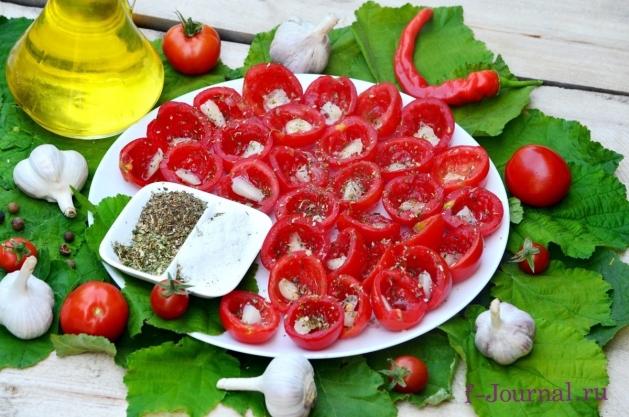 Любимые помидоры на зиму – кулинарный рецепт