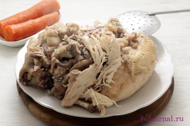 Холодец из свиных ножек и говядины, пошаговый рецепт с фото