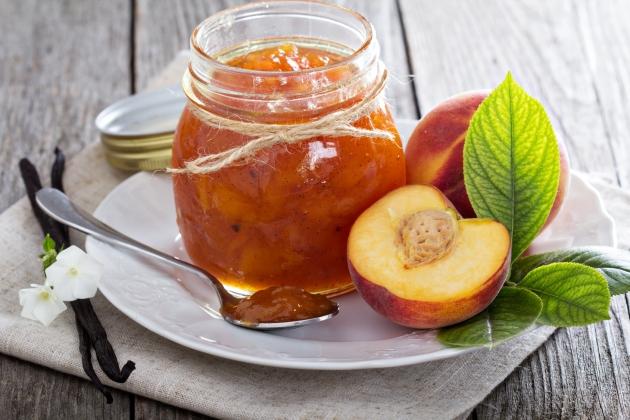 Варенье из персиков с миндалем от Елены Чекаловой