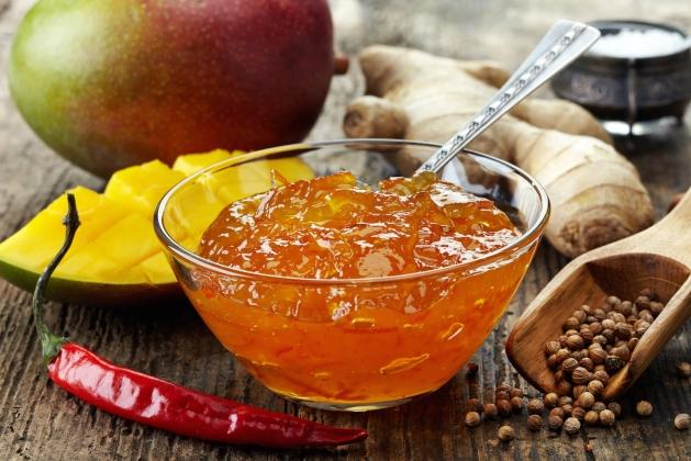 Варенье с перчинкой: дыня, манго и чили за 5 минут