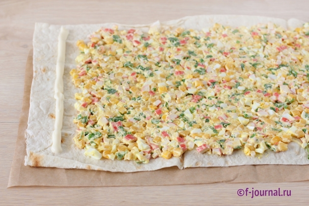 салат из тарталеток рецепты с фото