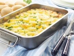 Запеканка из картофеля с кабачками