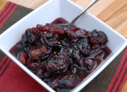 Виноградное чатни (сладкий соус к мясным блюдам)