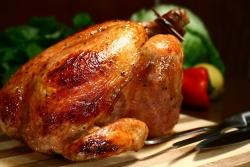 Курица с инжиром
