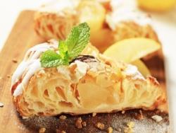 Пирог с грушей и сыром дор блю