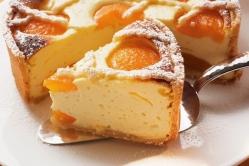 Творожный пирог с грушами (грушевый чизкейк)