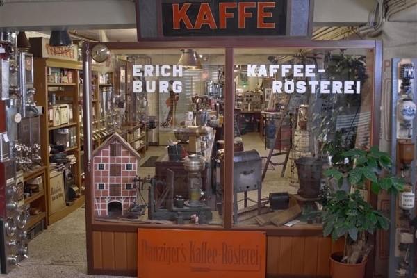 Музей кофе Йенса Бурга (Kaffee-Museum Burg) в Гамбурге