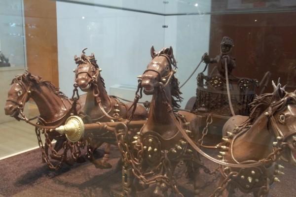 Музей шоколада (Museu de la Xocolata) в Барселоне, Испания