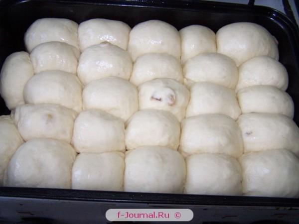 Постные сладкие булочки фото