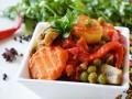 Весеннее овощное рагу с шампиньонами