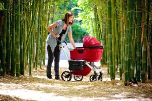 Детская коляска для новорожденного ребенка