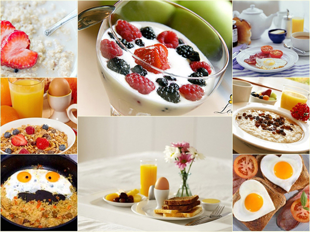 Полезный завтрак для женщин