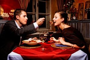 Поздний ужин для женщин