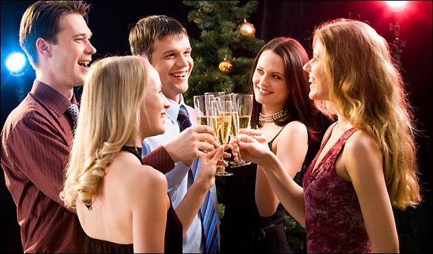 Макияж на Новый Год 2012