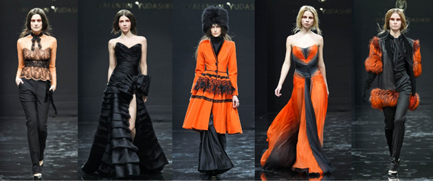 Новая коллекция haute couture Валентина Юдашкина