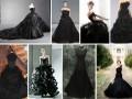 Черное свадебное платье? Почему бы и нет!
