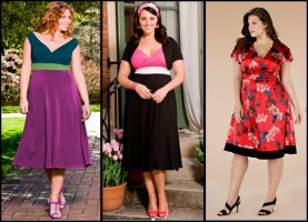 Мода для полных женщин сезона 2011 - 2012