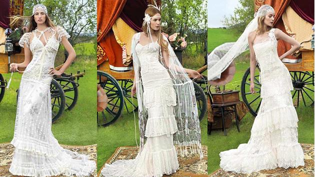свадебные винтажные платья