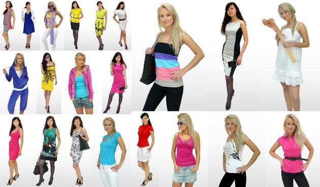 Летняя женская одежда 2011