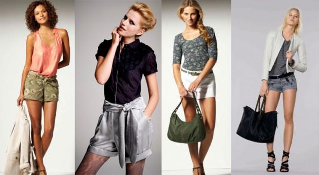 Модные женские шорты осень-зима 2011/2012