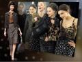 Модная женская одежда в горошек сезона осень-зима 2011/2012