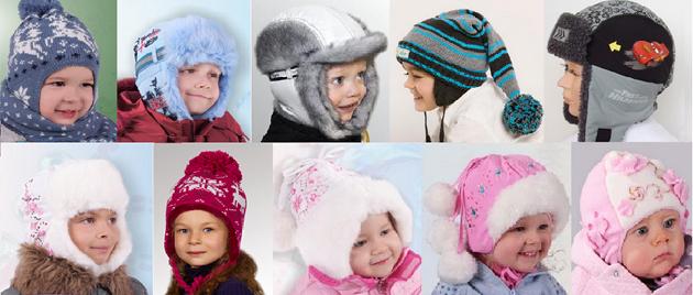 Детские шлемы и шапки зима 2011 – 2012