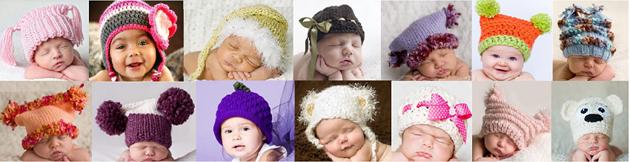 детские шапки зима 2011 – 2012