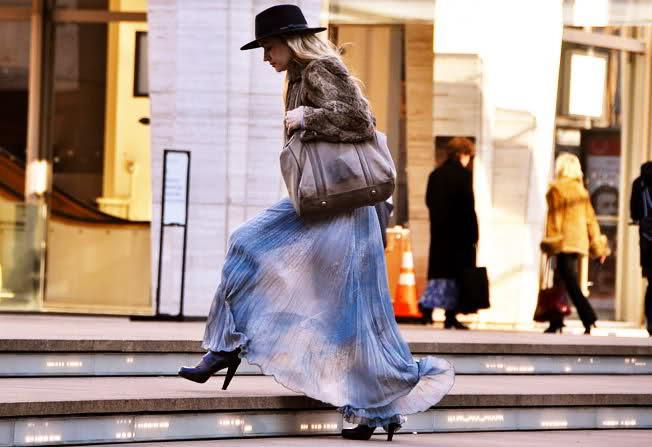 юбка макси зима 2011 2012