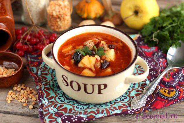 Гороховый суп по-кавказски