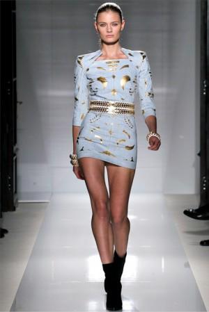 Коллекция Balmain весна–лето 2012 – юбки и платья