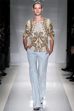 Коллекция Balmain весна–лето 2012 – жакеты, рубашки, блузы и топы