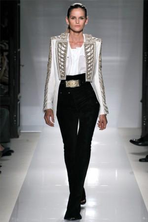 одежда Balmain весна–лето 2012 – брюки, шорты