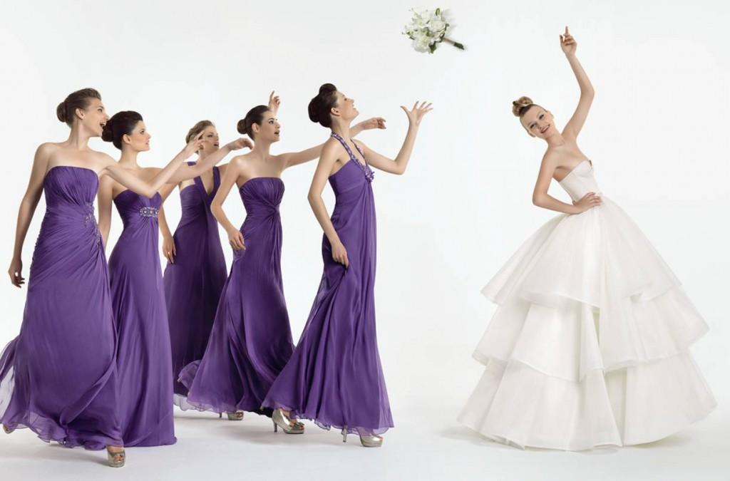 Свадебный дресс-код для подружек невесты
