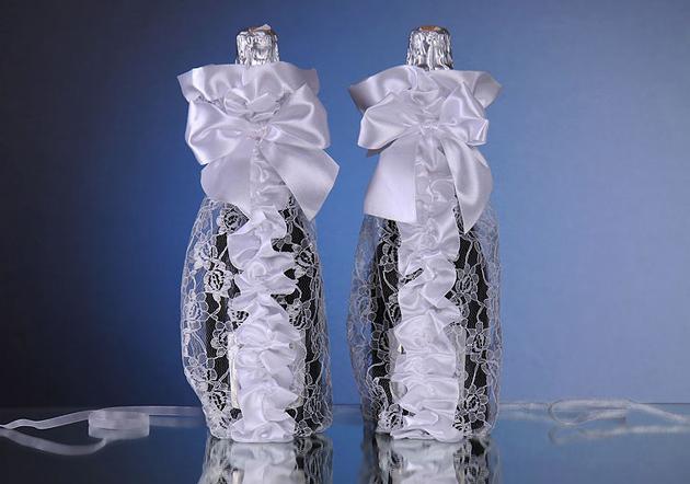 Как подарить бутылки шампанского