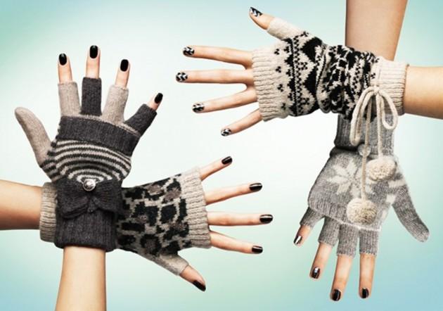 Модные женские перчатки зима 2011 – 2012