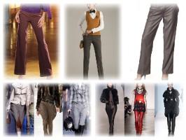 Модные женские брюки зима 2011-2012