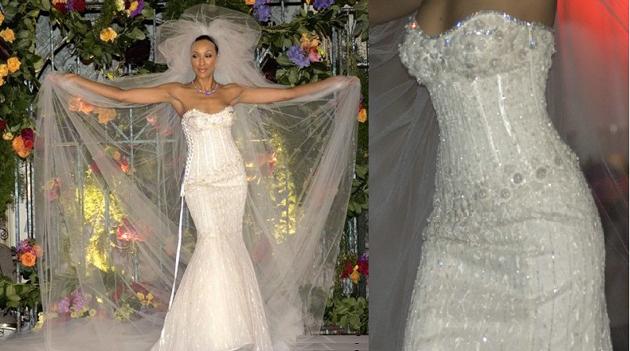 Самое дорогое свадебное платье в