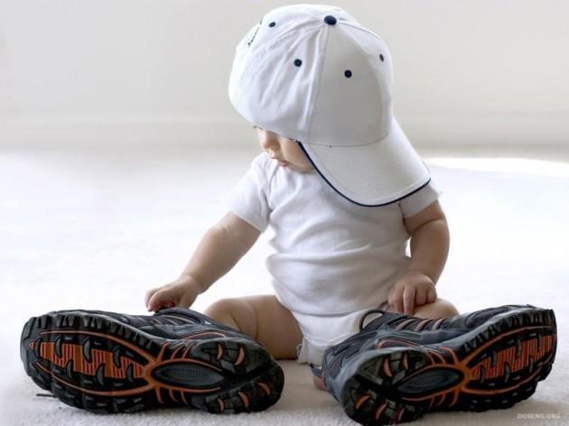 Как выбрать обувь для ребенка от года до трех лет?