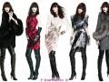 Модные ботфорты — с чем носить ботфорты (зима 2012)