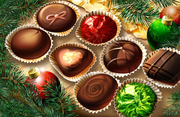 Вкусные подарки на Новый год