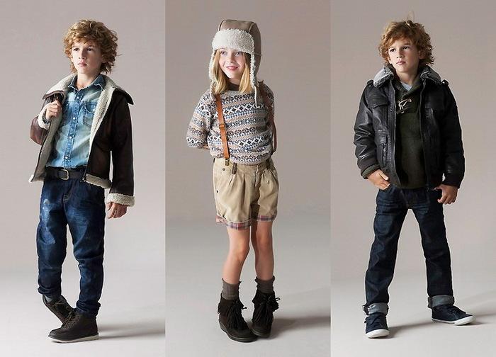 Детская мода зима 2012