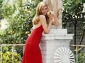 С чем носить или сочетать красное платье