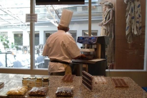 Музей шоколада Choco-Story (Chocolademuseum) в Брюгге, Бельгия