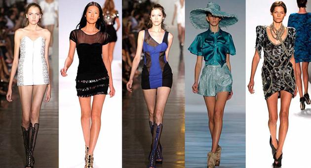 модные тенденции сезона весна-лето 2011