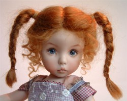 Как покрасить волосы кукле