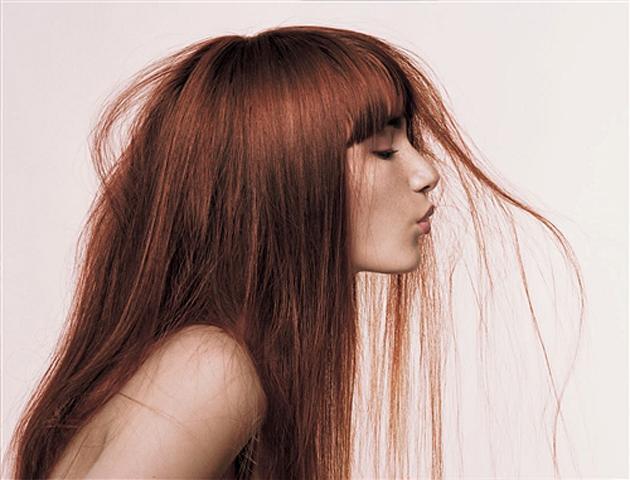 Как покрасить волосы не повреждая их